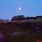 Лунен пейзаж от улицата.